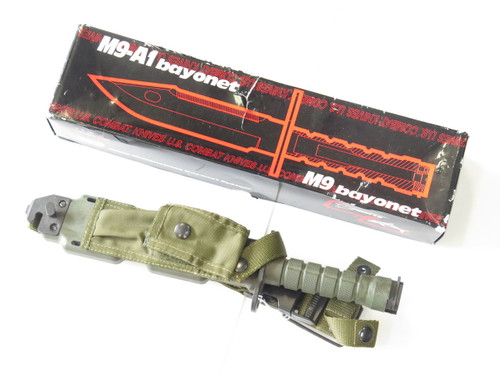 Vtg Marto Phrobis International Int'l Bayonet Survival Fixed Blade Combat Knife