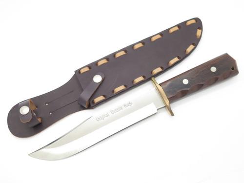 "Vtg C Jul Herbertz German Rostfrei ""Original Bowie"" Fixed Blade Hunting Knife"