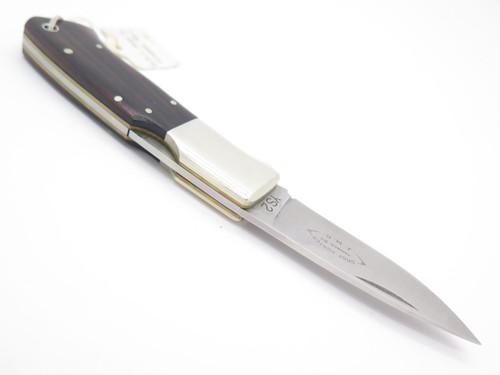 Vtg G. Sakai Seki Japan 21-3 Custom J.M.G. Folding Hunter Lockback Pocket Knife
