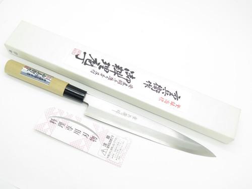 Vintage Jyubei Seki Japan 210mm Yanagi Sushi Chef Fish Kitchen Cutlery Knife