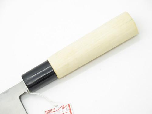 Vintage Jyubei Seki Japan 105mm Deba Sushi Chef Fish Kitchen Cutlery Knife