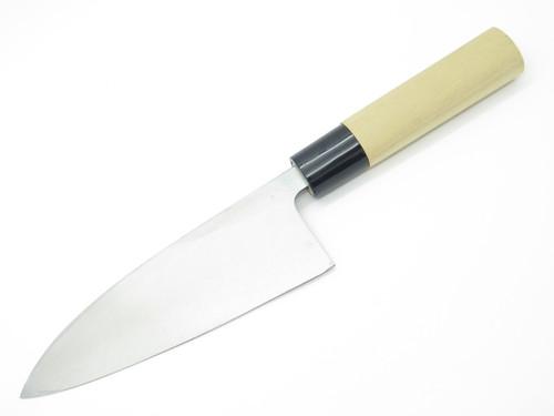 Vintage Jyubei Seki Japan 150mm Deba Sushi Chef Fish Kitchen Cutlery Knife