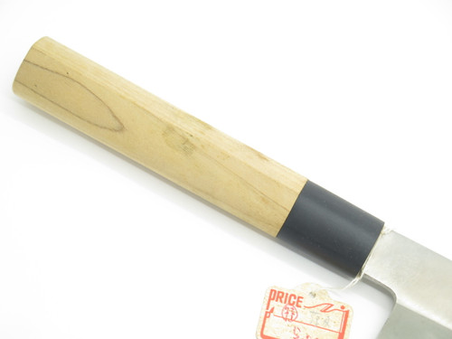 VTG BUNMEI SEKI JAPAN 180mm USUBA VEGGIE KITCHEN KNIFE BY YOSHIKIN GLOBAL MAKER