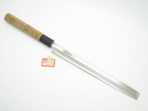 VTG BUNMEI SEKI JAPAN 210mm TAKO SASHIMI KITCHEN SUSHI KNIFE BY YOSHIKIN GLOBAL