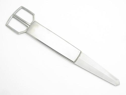 Vintage Seki Japan Stainless Gentelman Desk Letter Opener & Scissor Knife