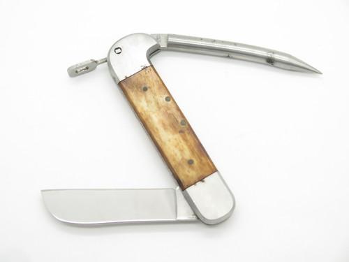 Vtg C. 1960s Yachtsman Seki Japan Smooth Bone Sailor Rigging Marlin Spike Knife