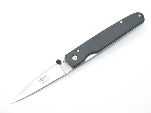 JUNGLEE BABYLON STRAIGHT AUS-8 SEKI JAPAN FOLDING LINERLOCK POCKET KNIFE *BLEM*