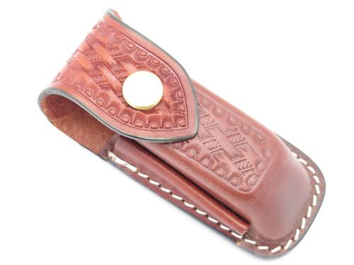 Victorinox Swiss Army XL Leather Folding Knife Tool Sheath Cybertool Craftsman
