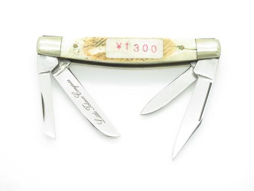 Vintage Frost Cutlery Seki Japan Little Tobacco Congress Steel Folding Knife