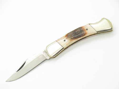 Vtg 1978-82 Parker Brothers Eagle K247 Imai Seki Japan Stag Folding Pocket Knife