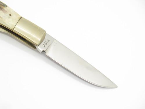 Vtg 78-82 Parker Brothers Eagle K126-F Imai Seki Japan Stag Folding Pocket Knife