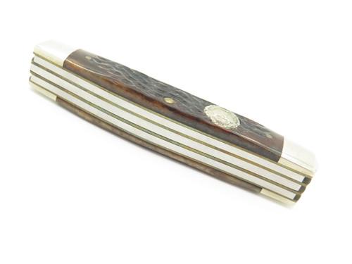 Vtg 1972-1982 NKCA Decade Of Growth Case XX 6592 Folding Stockman Knife