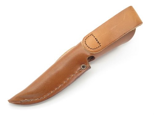 Case XX M3 Finn Small Fixed Blade Brown Leather Knife Sheath *blem