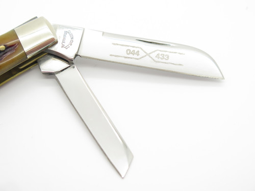 2002 Schatt & Morgan Queen 044433 NKCA Congress Folding Pocket Knife