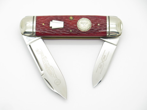 2004 Schatt & Morgan Queen 042265 NKCA Toenail Sunfish Folding Pocket Knife