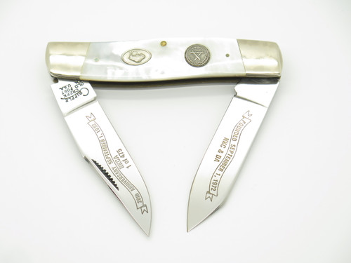 1992 NKCA 20th BOB CARGILL CRIPPLE CREEK USA MOP FOLDING MOOSE POCKET KNIFE