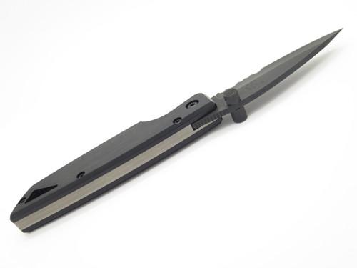 2000 BUCK USA 170 LIGHTNING BLACK FOLDING LINERLOCK POCKET KNIFE