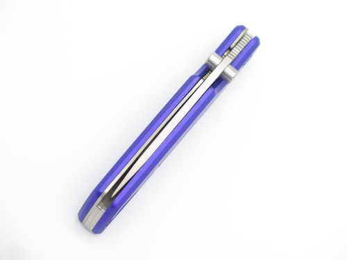 1998 Buck USA 170 Lightning Purple Folding Linerlock Pocket Knife