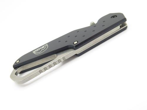 BUCK WHITTAKER 751 APPROACH BLACK 2002 SHOT SHOW FOLDING LINERLOCK POCKET KNIFE