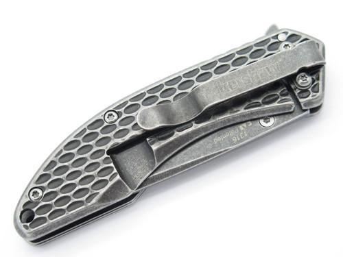 KERSHAW KAI 1316 SMALL FOLDING FRAMELOCK POCKET KNIFE SPEEDSAFE ASSISTED