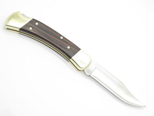 2004 Buck 110 Nano Steel Experimental Custom Folding Hunter Lockback Knife