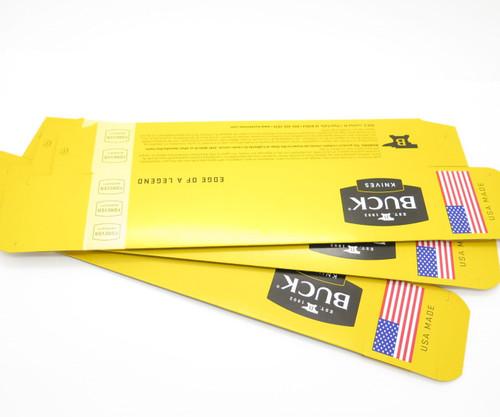 """Lot Of 3 Buck 11.25"""" Knife Box Folding Hunter Ranger 110 112 102 419 191 192"""