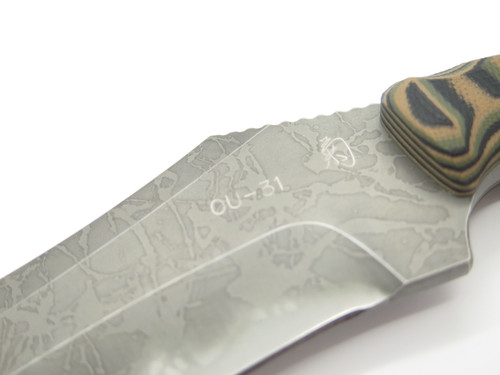 Kiku Matsuda Custom Desperade OU-31 Seki Japan Fixed Blade Hunting Knife