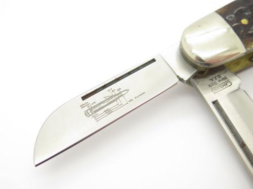 Vtg Camillus Usa CCC-7 Cartridge .270 Winchester Camp Folding Pocket Knife