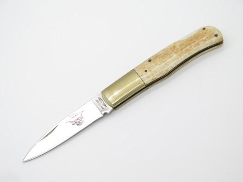 Vtg 1976-1978 Parker Frost Seizo Imai Seki Japan Longhorn Folding Pocket Knife