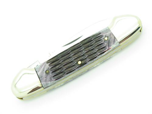 Vtg Frost Cutlery Imai Seki Japan Canoe Jigged Bone Folding Pocket Knife