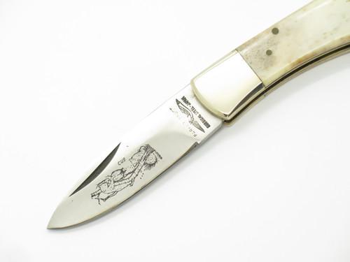Vtg 1976-1978 Parker Frost Seizo Imai Seki Japan C Folding Lockback Pocket Knife