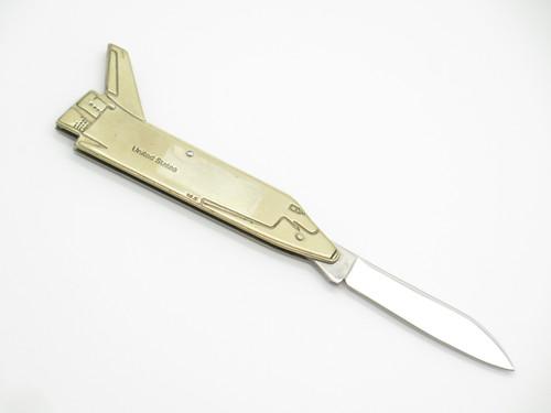 Vtg 1980s Novelty USA Space Shuttle Seizo Imai Seki Japan S Folding Pocket Knife