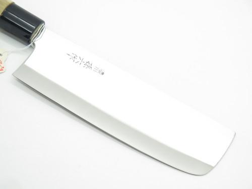 Vtg Japanese Gift Set Seki Japan Yanagi Deba Nakiri Sushi Chef Kitchen Knife