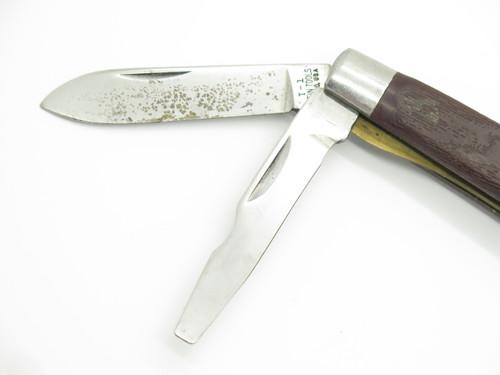 Vtg 1980s Klein Tools USA Tl-29 Electrician Lineman Folding Military Tool Knife