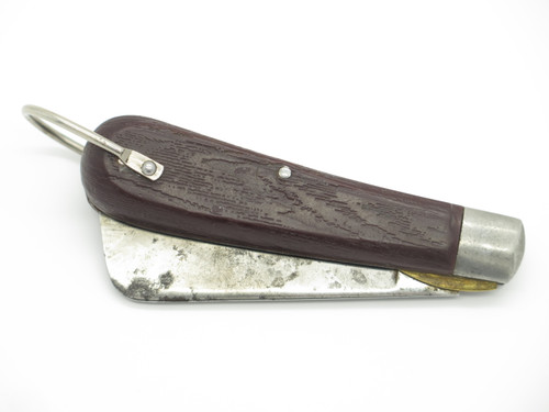 1990s Klein Tools USA Sheepfoot Rope Cutting Folding Pocket Knife