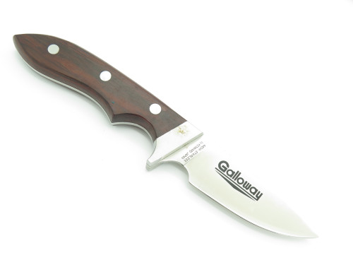 "Vtg 1970s Hattori Kenward Galloway Seki Japan Fixed 3.5"" Blade Hunting Knife"