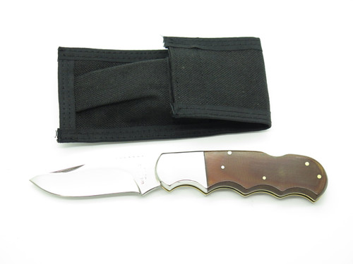 "Vtg 1970s Wenoka Magnum Seizo Imai Seki Japan 4.5"" Folding Hunter Lockback Knife"