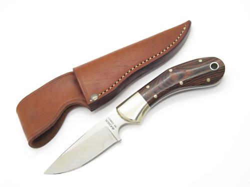 Vtg 1980s Magnum Boker Seki Japan Stainless Skinner Fixed Blade Hunting Knife
