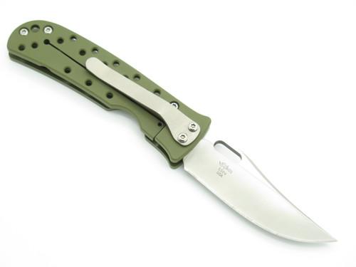 Buck 171 Mayo Waimea Limited S30V Green Titanium Framelock Folding Pocket Knife