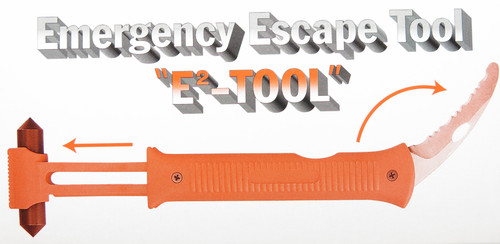IMAI JAPAN EMERGENCY ESCAPE RESCUE HAMMER TOOL GLASS BREAKER SEAT BELT KNIFE