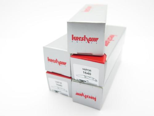 "LOT of 5 KERSHAW KAI KNIFE BOX 4.75"" SMALL FOLDING FOLDER POCKET KNIFE"