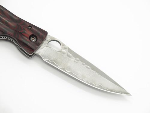 Mcusta Seki Japan MC-183G Ieyasu Red & SPG2 San Mai Folding Hunter Knife