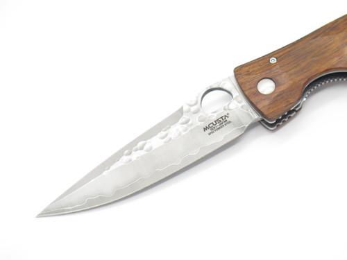 Mcusta Seki Japan Tactility Elite MC-125G Wood SPG2 San Mai Folding Pocket Knife