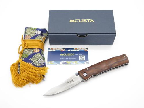 Mcusta Seki Japan Shinra Emotion MC-76DI VG-10 Damascus Folding Pocket Knife