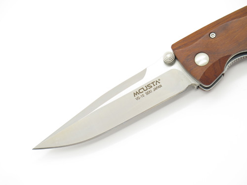 Mcusta Seki Japan MC-18V Classic Wave Ironwood VG-10 Folding Pocket Knife
