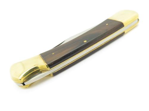 Vtg 1970s Jensen Tool Seizo Imai Seki Japan Folding Hunter Lockback Pocket Knife