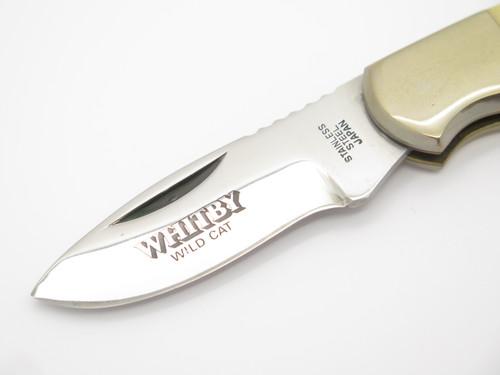 "Vtg Whitby Co Seizo Imai Seki Japan 3.5"" Magnum Folding Lockback Pocket Knife"