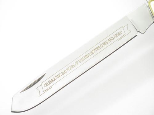 Remington R11917 Giant Trapper Folding Knife Green 200th