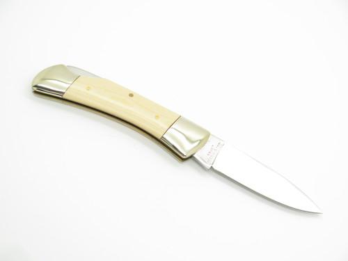 VTG JOY FIVE STAR SAB UMETARO SEKI JAPAN MICARTA FOLDING LOCKBACK POCKET KNIFE