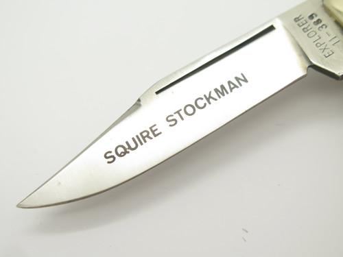Vtg Gutmann Explorer Imai Seki Japan Squire Stockman Stag Folding Pocket Knife